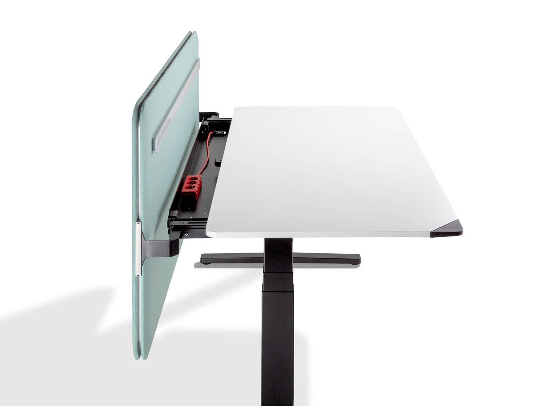 Vinylplaten houten tafel u stockfoto zoomteam